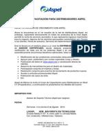 Agenda de Curso en Tabasco
