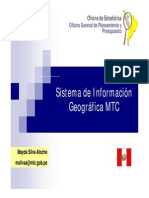 Sistema de Informacion Mtc