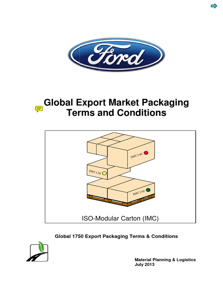 NORMA IMC Ford packaging spec.pdf | Packaging And Labeling ...