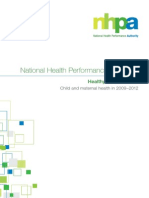 Child and Maternal Health report