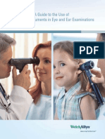 Guía Para Diagnostico Con Oftalmoscopio y Otoscopio Welch Allyn