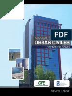 Manual de Obras CivilesCFE