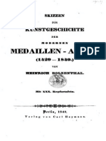 Skizzen zur Kunstgeschichte der modernen Medaillen-Arbeit (1429-1840) / von Heinrich Bolzenthal