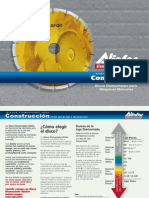Aliafor - Discos Diamantados Para Construcción