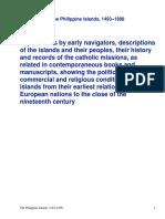 The Philippine Islands, 1493-1898 — Volume 10 of 551597-1599