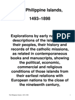 The Philippine Islands, 1493-1898 — Volume 22 of 55 1625-29Explorations by early navigators, descriptions of the islands and their peoples, their history and records of the catholic missions, as related in contemporaneous books and manuscripts, showing  by Various