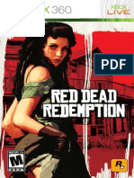 Red Dead Redemption Xbox 360 Manual