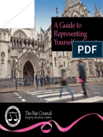 A Guide to Representing Yourself in Court