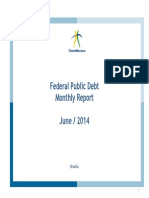 Federal Public Debt – Monthly Debt Report June, 2014