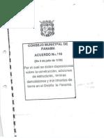 Acuerdo 116 - Municipio