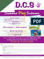 PDDCS Playscheme 2014 Advert
