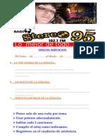 Discos Servicios Enero 2014