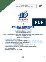 Gabarito Comentado - AOSD 2009
