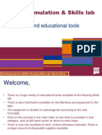 NMSU Nursing Skills Lab PP of Equipment With Locations