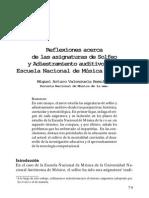 Solfeo y Adiestramiento Auditivo EM UNAM