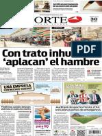 Periódico Norte edición del día 30 de julio de 2014