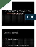 Elements and Principles Part 1