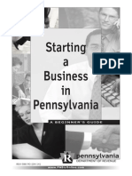 Starting a business in PA