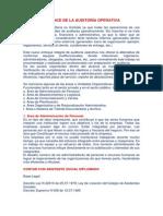 Alcance de La Auditoría Operativa Paoly