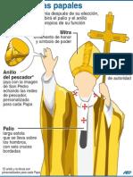 Insignias Papales