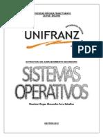 ESTRUCTURA DE ALMACENAMIENTO SECUNDARIO.