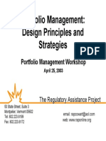 RAP PortfolioManagementDesignStrategies 2003-04-25
