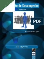 AD-objetivos, Vantagens e Desvantagens.pptx