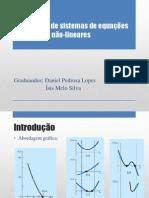 Resolucao de Equacoes Nao-lineares