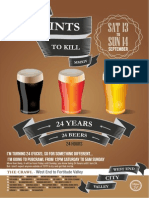 24 Pints To Kill