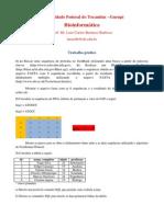 Trabalho Bioinformatica1