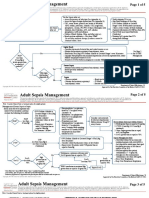 Adult Sepsis Managment With SIRS Criteria