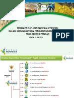 PT PUPUK Peran PIHC Dalam Meningkatkan Pembangunan Sektor Pangan