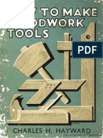 How to Build Woodworking Tools
