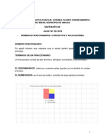 Números Fraccionarios, Conceptos Básicos y Aplicaciones