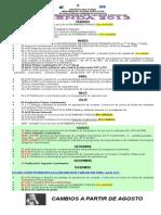 AGENDA 2013 Modificada 2 Cuatrimestre