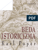 Karl Poper - Beda Istoricizma