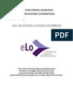 eLo Course Planning Handbook