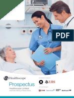 Healthscope - Prospectus