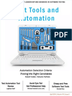 LogiGear Magazine April 2014 Test Tools and Automation1