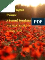 """Ralph Vaughan Williams' """"A Pastoral Symphony"""""""