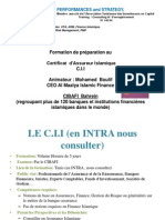Certification Takaful Assurance Islamique