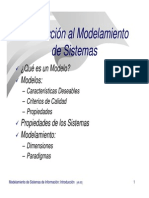 Introduccion Al Modelamiento