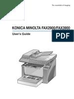 KMF3900 User Manual