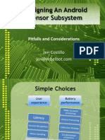 Topics in Designing an Android Sensor Subsystem_ Pitfalls and Considerations Presentation