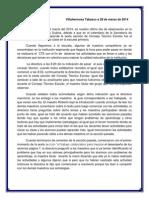 Diario Del Dia Viernes Consejo Tecnico