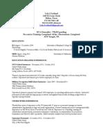 lola scotland resume for act program