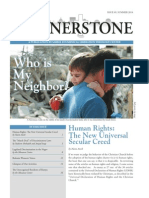 "Cornerstone, Summer 2014 ""Who is My Neighbor?"""""