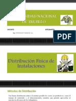 Distribución de Instalaciones -ERIKA
