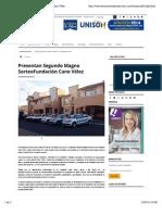 20-07-14 Presentan Segundo Magno Sorteo Fundación Cano Vélez