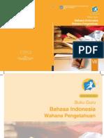 Buku Pegangan Guru Bahasa Indonesia Kelas 7 SMP/MTs K13